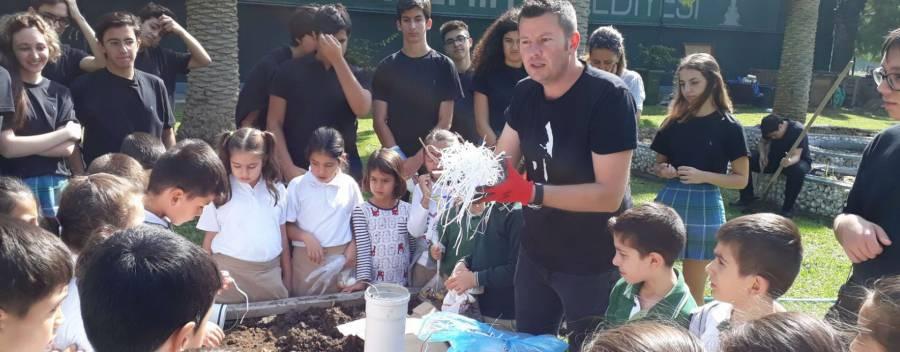 İlk Kurşun İlkokulu 2. Sınıf öğrencileri ile atölye çalışmaları yaptık